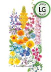 Flower Mix California Color Seeds (LG)