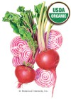 Beet Chioggia Organic HEIRLOOM Seeds