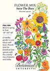 Flower Mix Save the Bees Seeds
