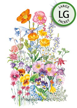 Flower Mix Fairy Meadow Seeds (LG)